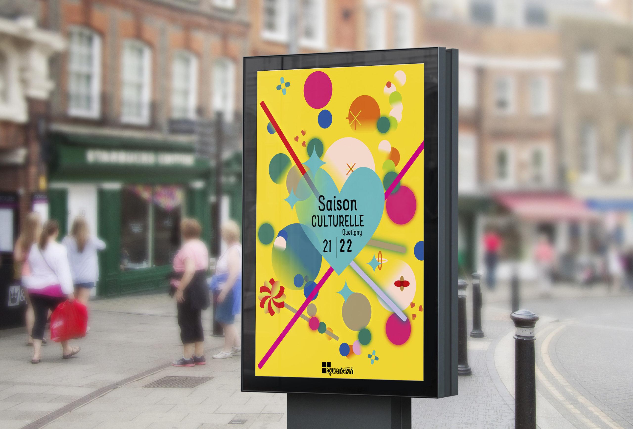 Street Billboard PSD MockUp1